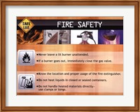 Fire Safety Wall Poster