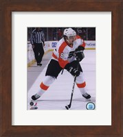 Danny Briere 2010-11 Action Fine-Art Print