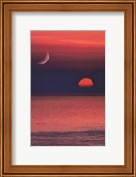 Coastal Sunset Portrait Fine-Art Print