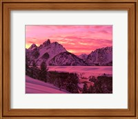 Teton Sunset Fine-Art Print