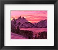 Teton Sunset Fine-Art Print