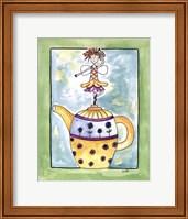 Purple Flower Teapot Fairy Fine-Art Print