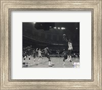 Michael Jordan University of North Carolina Game winning basket in the 1982 NCAA Finals against Georgetown Horizontal Action Fine-Art Print