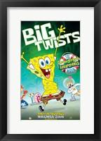 SpongeBob SquarePants - Big Twists Wall Poster