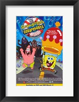 SpongeBob SquarePants Movie Cartoon Wall Poster