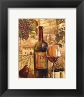 Wine Collage I - mini Fine-Art Print
