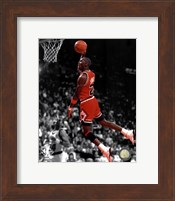 Michael Jordan 1990 Spotlight Action Fine-Art Print