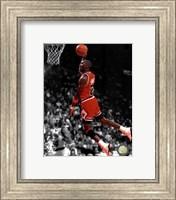 Michael Jordan 1990 Spotlight Action Fine-Art Print