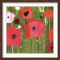 Ranunculus on Green Fine-Art Print
