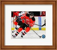 Brian Rolston Passing Hockey Puck Fine-Art Print