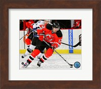 Brian Rolston Passing Hockey Puck Fine-Art Print