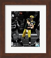 Aaron Rodgers Spotlight Action from Super Bowl XLV Fine-Art Print