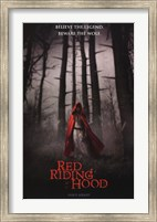 Red Riding Hood - Who's Afraid Wall Poster