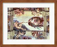 Sistine Chapel Ceiling: Creation of Adam, 1510 B Fine-Art Print
