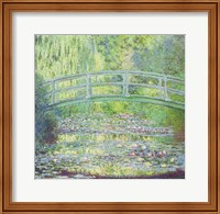 The Waterlily Pond with the Japanese Bridge, 1899 Fine-Art Print