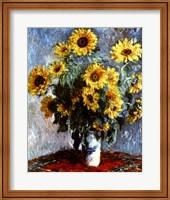 Still life with Sunflowers, 1880 Fine-Art Print