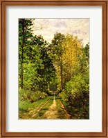 Wooded Path, 1865 Fine-Art Print