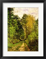 Wooded Path, 1865 Fine-Art Print