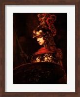 Pallas Athena or, Armoured Figure Fine-Art Print