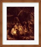 Adoration of the Shepherds, 1646 Fine-Art Print