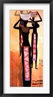 African Elegance I Fine-Art Print