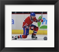 Brian Gionta 2010-11 Action Fine-Art Print