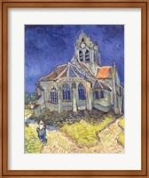 The Church at Auvers-sur-Oise, 1890 Fine-Art Print