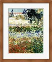 Garden in Bloom, Arles, 1888 Fine-Art Print