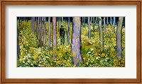 Undergrowth with Two Figures, 1890 Fine-Art Print