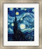 The Starry Night, June 1889 Detail A Fine-Art Print