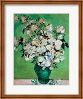 A Vase of Roses, 1890 Fine-Art Print
