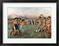 Young Spartans Exercising, c.1860 Fine-Art Print