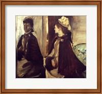 Madame Jeantaud in the mirror Fine-Art Print