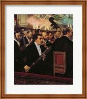 The Opera Orchestra, c.1870 Fine-Art Print
