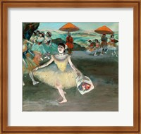 Dancer with bouquet, curtseying, 1877 Fine-Art Print