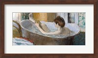 Woman in her Bath, Sponging her Leg, c.1883 Fine-Art Print