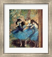 Dancers in Blue, 1890 Fine-Art Print