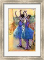 Two Blue Dancers Fine-Art Print