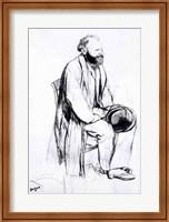 Study for a portrait of Manet Fine-Art Print