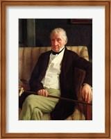 Portrait of Hilaire Degas Fine-Art Print