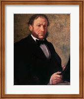 Portrait of Monsieur Ruelle, 1861 Fine-Art Print