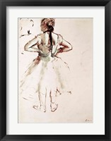 Dancer viewed from the back Fine-Art Print