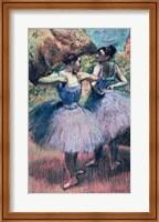 Dancers in Violet Fine-Art Print