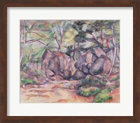 Woodland with Boulders, 1893 Fine-Art Print