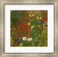 Farm Garden with Flowers Fine-Art Print