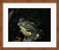 Dejeuner sur l'Herbe, 1863 (frog detail) Fine-Art Print