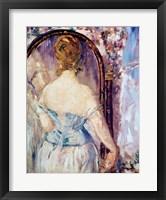 Woman Before a Mirror Fine-Art Print