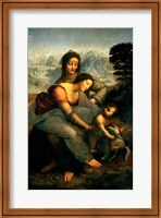 Virgin and Child with St. Anne, c.1510 Fine-Art Print