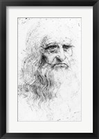 Self portrait - Sketch Fine-Art Print