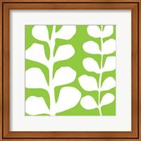 White Fern on Green Fine-Art Print
